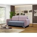 Sofa na metalowych stopkach Rina